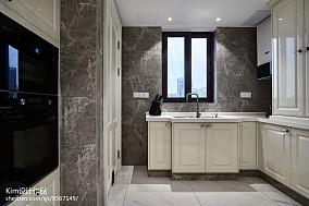 热门复式厨房效果图片欣赏复式欧式豪华家装装修案例效果图