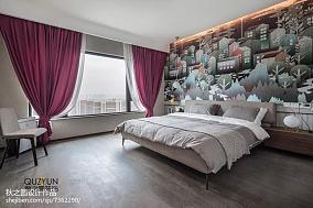 精美131平米北欧复式卧室装修实景图复式北欧极简家装装修案例效果图