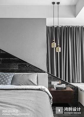 精致71平简约三居卧室设计图