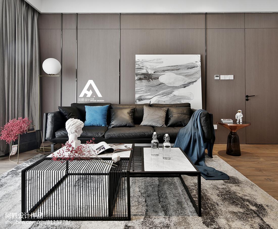 70平米二居客厅现代装修欣赏图片大全客厅茶几2图现代简约客厅设计图片赏析