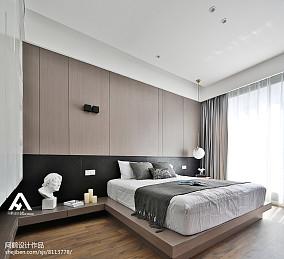 2018精选85平米二居卧室现代装修设计效果图片