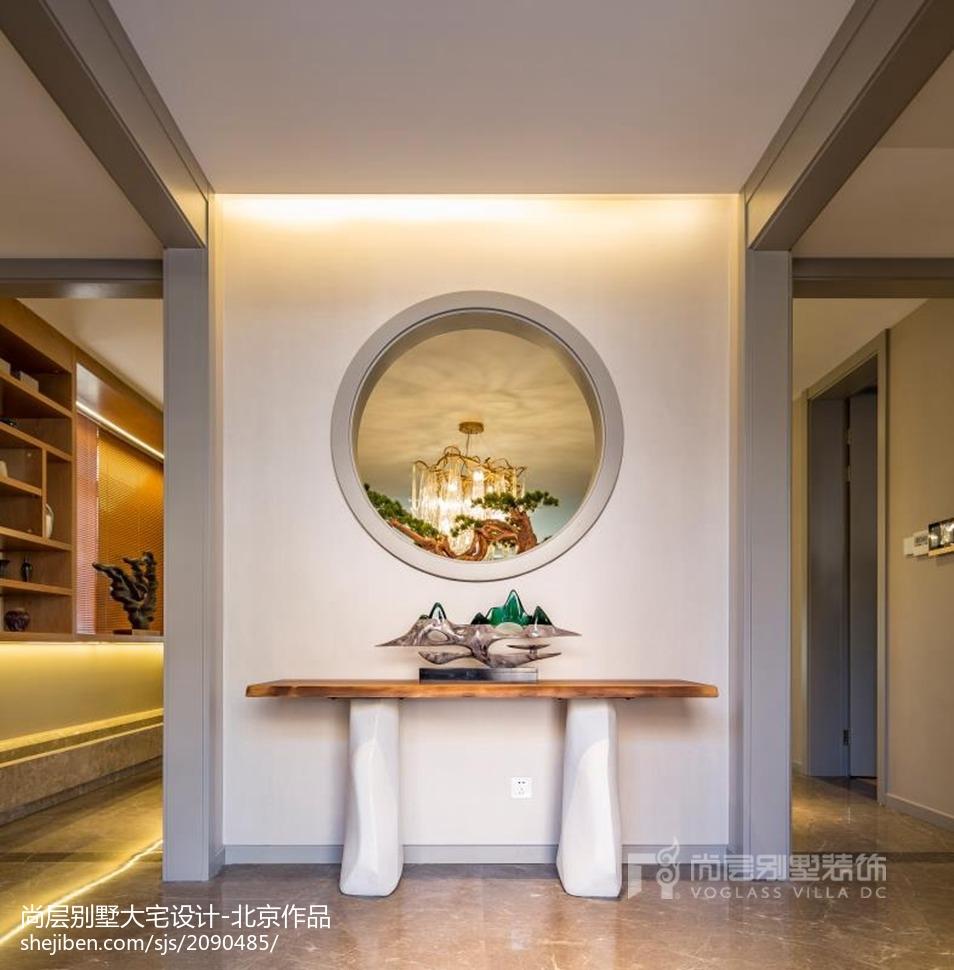 精选136平米现代别墅玄关装修欣赏图玄关现代简约玄关设计图片赏析