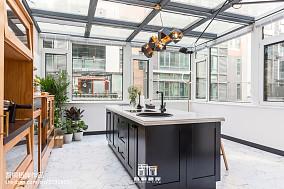 精选面积130平别墅厨房混搭装修实景图片餐厅1图潮流混搭设计图片赏析