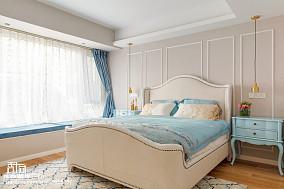 浪漫252平混搭别墅卧室效果图欣赏卧室3图潮流混搭设计图片赏析