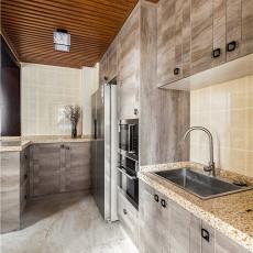 2018中式三居厨房装修效果图