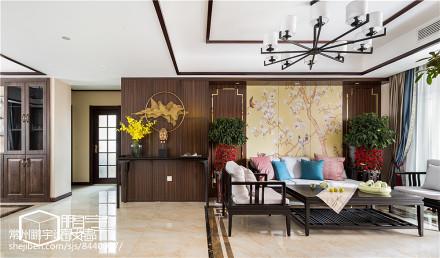 精美大小99平中式三居客厅效果图片