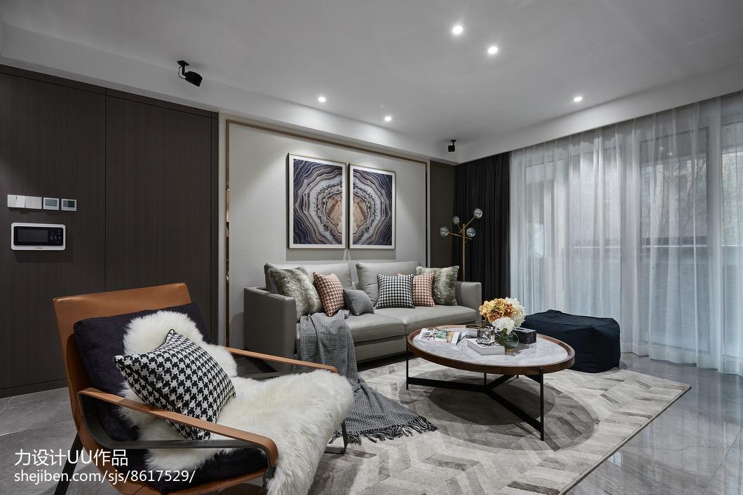 精美大小107平混搭三居客厅欣赏图片客厅