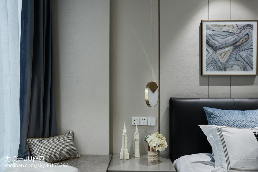 精选96平米三居卧室混搭装修图片卧室