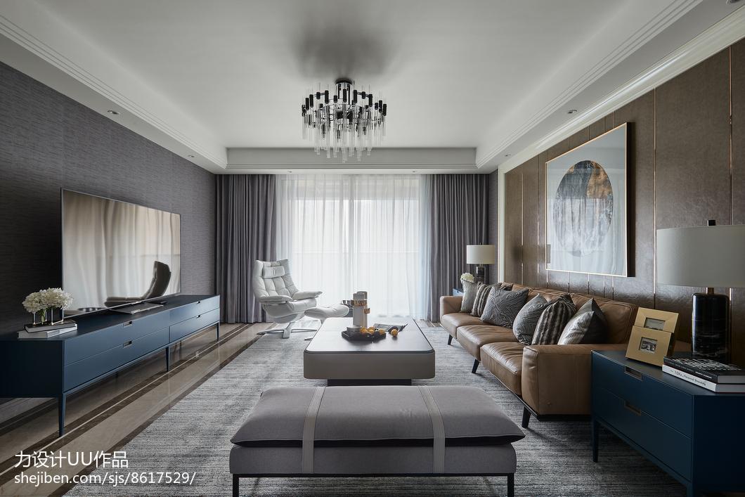 热门107.0平米3室客厅混搭装修实景图客厅潮流混搭客厅设计图片赏析