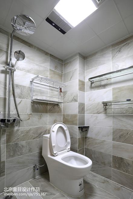混搭二居卫生间设计图卫生间