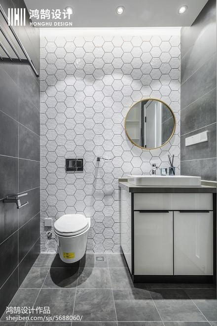 热门三居卫生间现代设计效果图卫生间
