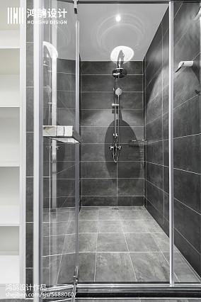 140平现代风卫浴设计图片三居现代简约家装装修案例效果图