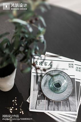 精选97平方三居餐厅现代装修设计效果图三居现代简约家装装修案例效果图