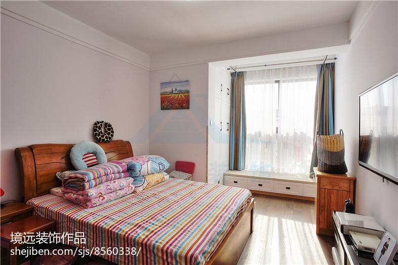 精选70平米二居卧室混搭欣赏图片大全卧室木地板潮流混搭卧室设计图片赏析