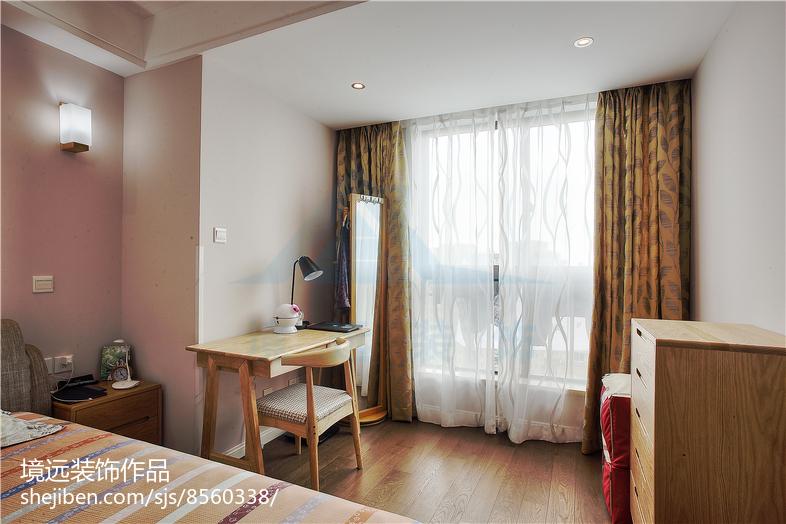 热门74平米二居卧室混搭装修设计效果图卧室