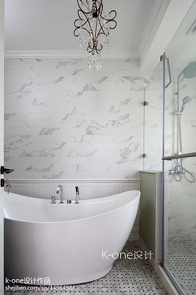 精选116平米美式别墅卫生间装修设计效果图