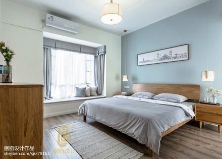 精致84平日式三居卧室装修图卧室