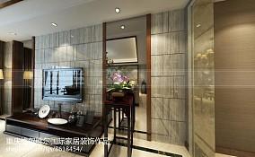 精美129平米中式别墅装修设计效果图片