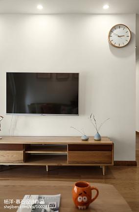 优雅117平日式三居客厅装修装饰图三居日式家装装修案例效果图