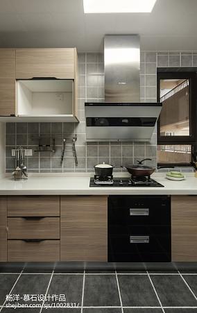 精选三居厨房日式装修欣赏图三居日式家装装修案例效果图
