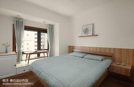 日式三居主卧室设计图片卧室