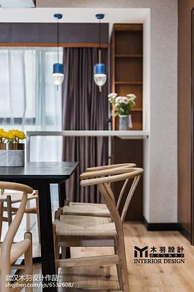精选大小100平中式三居餐厅装修效果图片大全