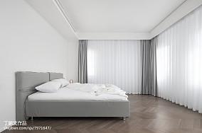轻奢524平现代别墅卧室装饰图