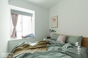 热门80平米二居卧室北欧装修设计效果图
