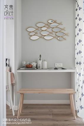 Morandi式北欧书桌设计图