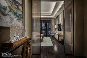2018别墅卧室中式实景图别墅豪宅中式现代家装装修案例效果图