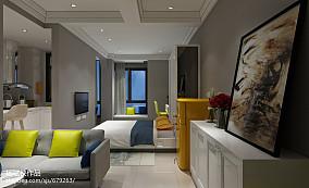 精选80平米北欧小户型客厅装修图片欣赏