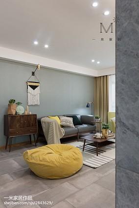 悠雅82平北欧三居设计案例三居北欧极简家装装修案例效果图