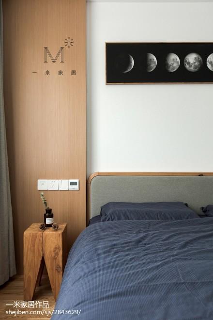 优雅123平日式三居美图卧室