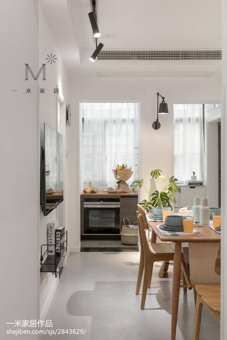 优美60平现代二居装修图二居现代简约家装装修案例效果图