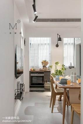 优美60平现代二居装修图