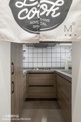 优雅87平现代二居效果图欣赏家装装修案例效果图