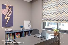 明亮60平现代二居案例图二居现代简约家装装修案例效果图