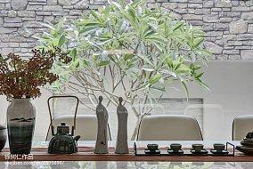 精美116平米中式别墅餐厅装修效果图片家装装修案例效果图