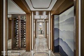 精美119平米中式别墅餐厅装修欣赏图片别墅豪宅中式现代家装装修案例效果图
