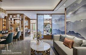 2018精选别墅餐厅中式装修设计效果图片别墅豪宅中式现代家装装修案例效果图