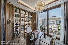 热门122平米中式别墅卧室装修欣赏图别墅豪宅中式现代家装装修案例效果图
