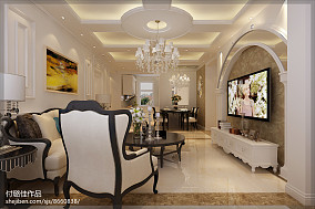 时尚简约现代别墅客厅设计