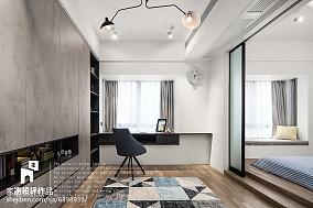 精致102平现代三居休闲区装修图片功能区现代简约设计图片赏析