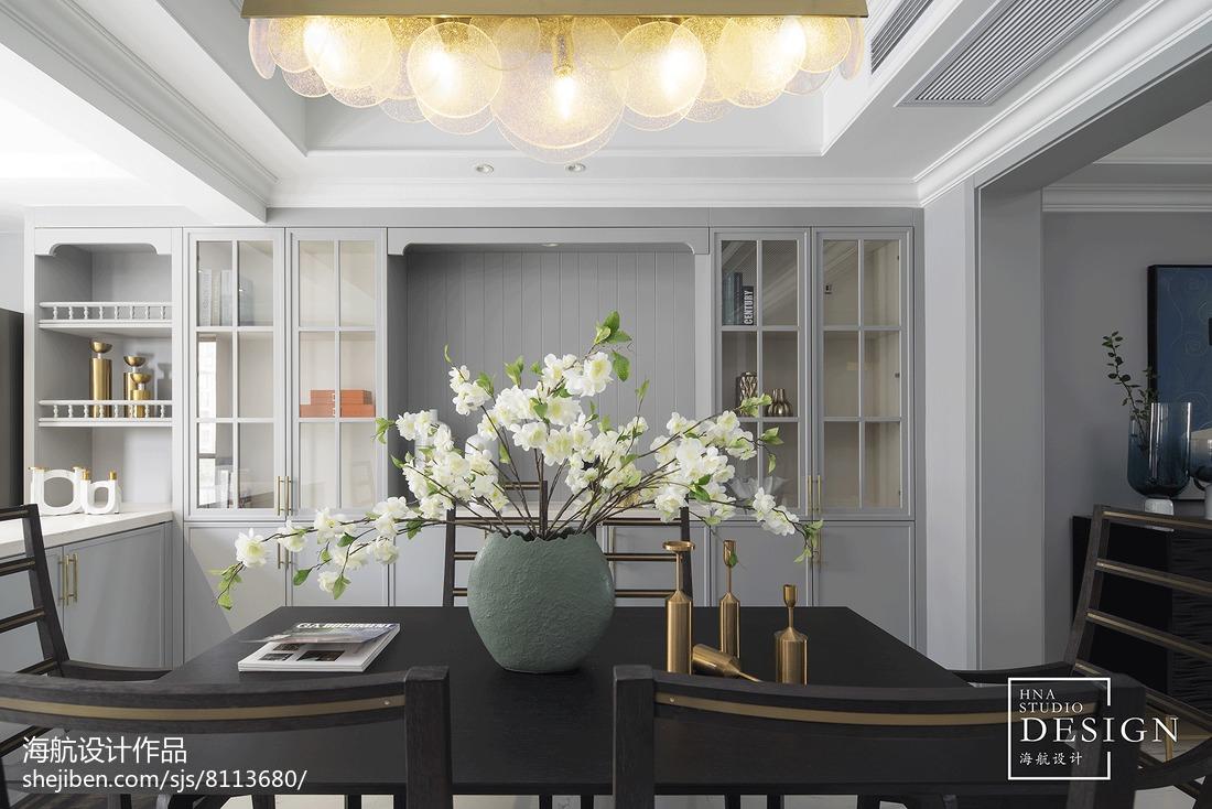 流行需要另辟蹊径,时尚精致的新装饰主义美式厨房美式经典餐厅设计图片赏析