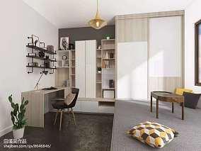 2018北欧二居卧室装修图片欣赏
