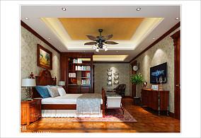 中式田园风格设计卧室