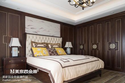 精致44平现代复式卧室布置图