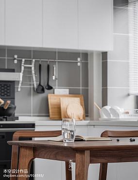 精选简约四居厨房效果图片欣赏