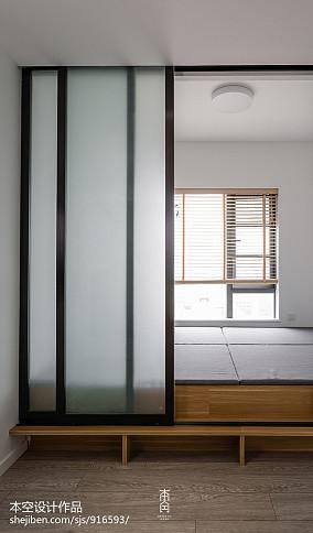 2018精选117平米四居卧室简约装修设计效果图片欣赏