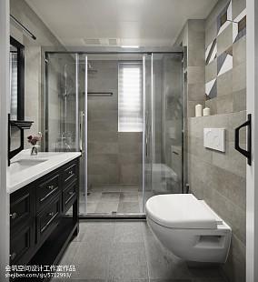精美北欧四居卫生间装修设计效果图片大全